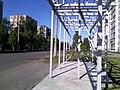 Соломбала. Строительство автобусной остановки - panoramio (1).jpg