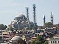 Турция (Türkiye), провинция Стамбул (il İstanbul), Стамбул (İstanbul), р-н Еминёню (ilçe Eminönü, Sultanahmet), Голубая мечеть ( - panoramio.jpg