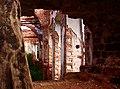 Убранство церкви.Вид из её стены..jpg