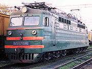 Soviet electric locomotive VL60pk (ВЛ60пк), c. 1960.
