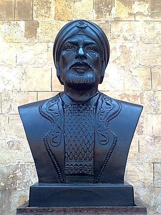 Qutuz - Qutuz bust in cairo