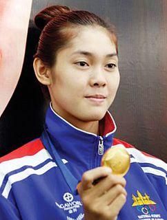 Sorn Seavmey Cambodian taekwondo practitioner