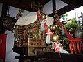 例祭の神輿(中御門天皇より拝領).JPG