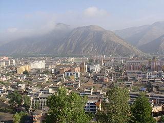 Dingxi Prefecture-level city in Gansu, Peoples Republic of China