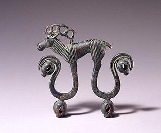 Jingle (percussion) - Chinese harness jingle, 7th–6th century BC