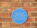 -2020-01-11 Blue plaque remembering Cyril and Alfred Fenner, Norwich Road, Cromer.JPG