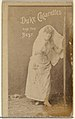 -Actress clothed in white-, from the Actors and Actresses series (N145-6) issued by Duke Sons & Co. to promote Duke Cigarettes MET DP840329.jpg