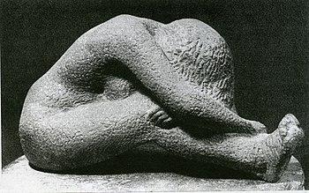 English: Angoscia, in pietra, del 1948