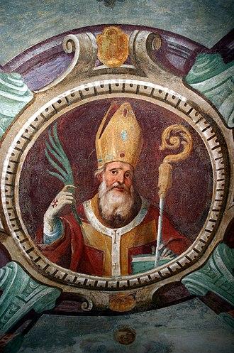 Calimerius - Fresco of Saint Calimerius