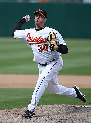 Todd Williams - Williams pitching for the Baltimore Orioles in 2007