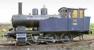 0-6-0 - A handcrafted, 1:8 live steam scale model of a Finnish VR Class Vr1