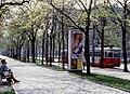 068L11170480 Parkring - Weiskirchnerstrasse, Haltestelle Stadtpark, Strassenbahn Linie J, Typ T2 437.jpg