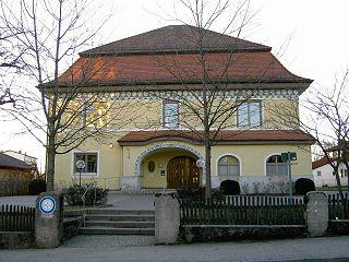 Pöcking Place in Bavaria, Germany