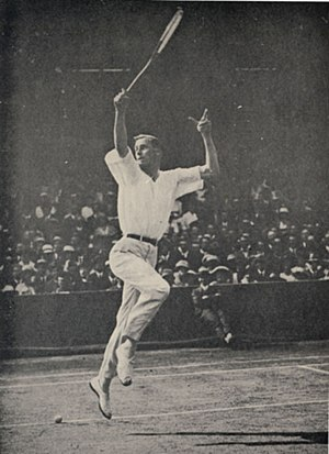 Bill Tilden - Bill Tilden in 1919