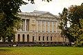1. Михайловский дворец, вид из Михайловского парка.JPG