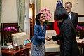 10.09 總統接見「美國國務院主管澳洲、紐西蘭及太平洋島國事務副助卿暨APEC資深官員孫曉雅訪問團」 - Flickr id 48868358843.jpg
