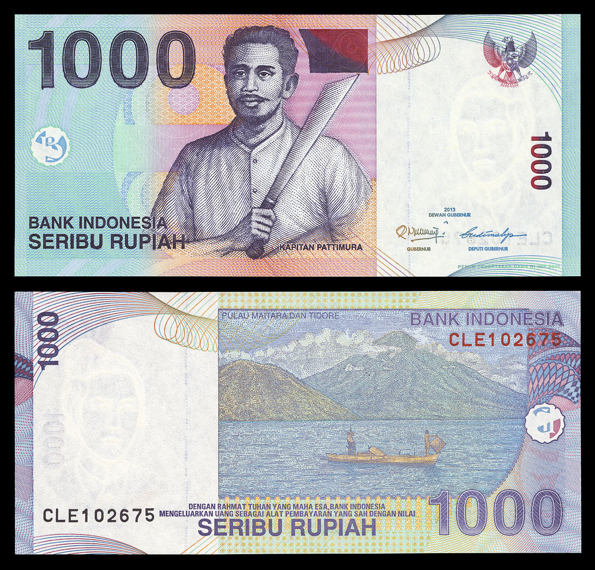 File 1000 Rupiah Bill 2000 Series