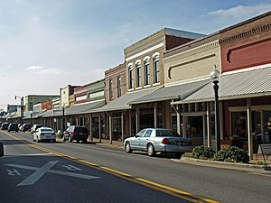 Hartselle, Alabama - The Hartselle Downtown Commercial Historic District was added to the National Register of Historic Places on April 22, 1999.