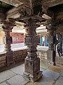 11th century Panchalingeshwara temples group, Kalyani Chalukya, Sedam Karnataka India - 73.jpg