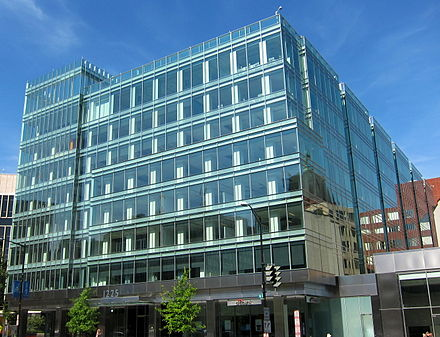 Brookfield's 1225 Connecticut Avenue in Washington, D.C., is the first redeveloped office building on the East Coast to receive LEED Platinum status. 1225 Connecticut Ave.JPG