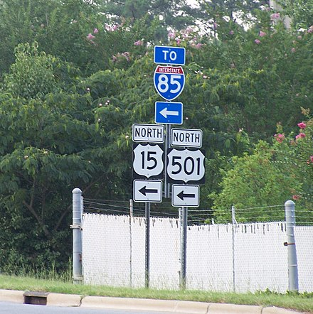 Media Related To U S Route 15 In North Carolina At Wikimedia Commons Ncroads Com U S 15