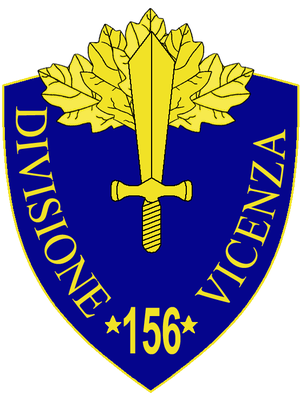 156th Infantry Division Vicenza - 156th Infantry Division Vicenza Insignia