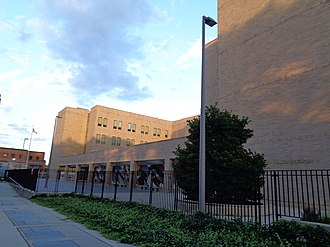 Queens Gateway to Health Sciences Secondary School - Image: 164th St Goethals 23 Queens Gateway