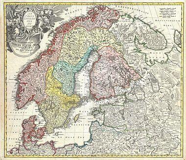 Homann map