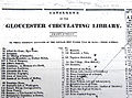 1832 CirculatingLibrary GloucesterMA GloucesterTelegraph January28 AB MP.jpg