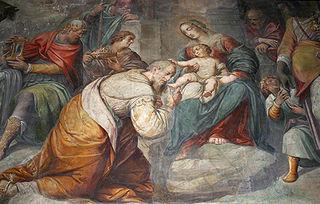 Guglielmo Caccia Italian mannerist painter (1568-1625)