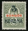 1919 Temesvar occupation roumaine 3korona.jpg