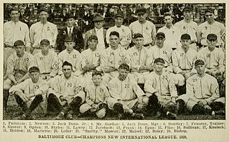 Baltimore Orioles (minor league) - The 1920 Baltimore Orioles