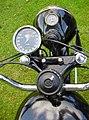 1946 Matchless G80L 500 cc OHV instruments.jpg