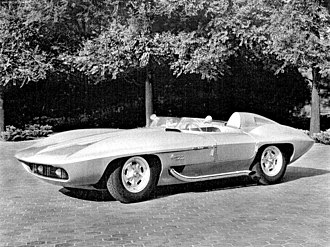 Corvette Stingray (concept car) - Image: 1959 Corvette Stingray Concept