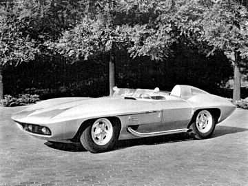 1959 Corvette Xp 87 Stingray Racer Concept