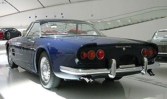 Maserati 5000 GT - Image: 1959 Maserati 5000 GT rl