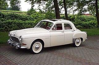 Ponton (car) 1930s–1960s car design genre
