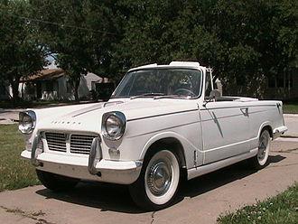 Triumph Herald - Image: 1962 Triumph Herald 948cc Conv