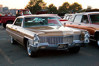 Cadillac de Ville series - 1965 Cadillac Sedan de Ville