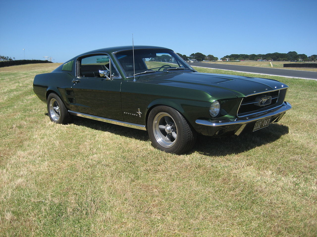 file 1967 ford mustang fastback wikimedia commons. Black Bedroom Furniture Sets. Home Design Ideas