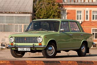 Lada - The first Lada, the VAZ-2101, was introduced in 1970