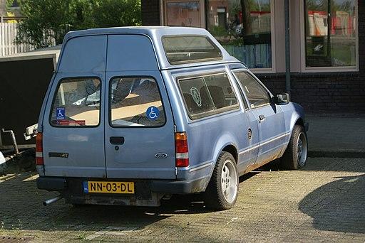 1985 Ford Escort Van 1.6 Automatic (8962910374)