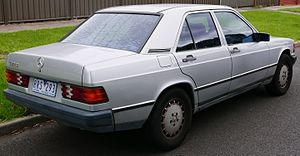Mercedes-Benz W201 - 1985 Mercedes-Benz 190 E