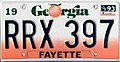 1990 Georgia license plate RRX 397.jpg