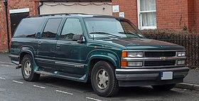 1997 Chevrolet Suburban 5 7 Front Jpg