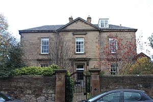 W. V. D. Hodge - Hodge's home at 1 Church Hill Place, Edinburgh