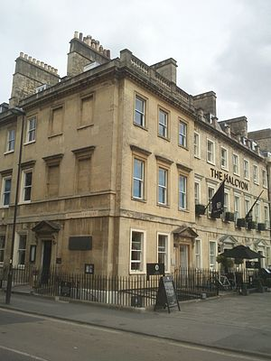 South Parade, Bath - Image: 1 South Parade