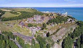 Dover Castle medieval castle in Dover, Kent, England