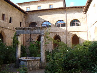 Abbey of Saint Scholastica, Subiaco - 12th Century cloisters.