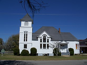 First Baptist Church (Madison, Florida) - Image: 1st Baptist Church Madison 01